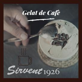 Gelat de cafè de Sirvent 1926, Barcelona